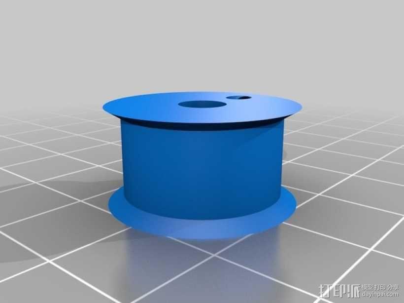 改良版Core-T 3D打印机 3D模型  图40