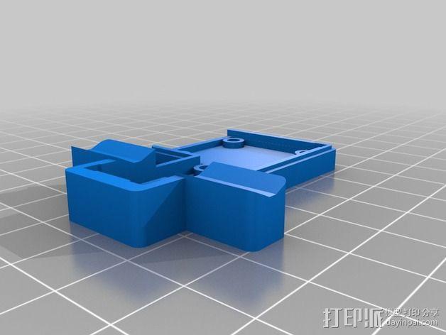 线材尺寸传感器 3D模型  图2