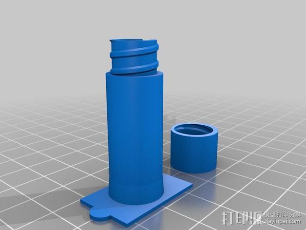 线材尺寸传感器 3D模型  图4