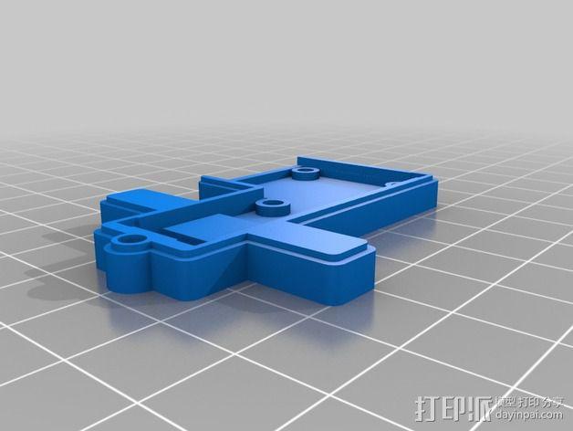 线材尺寸传感器 3D模型  图5
