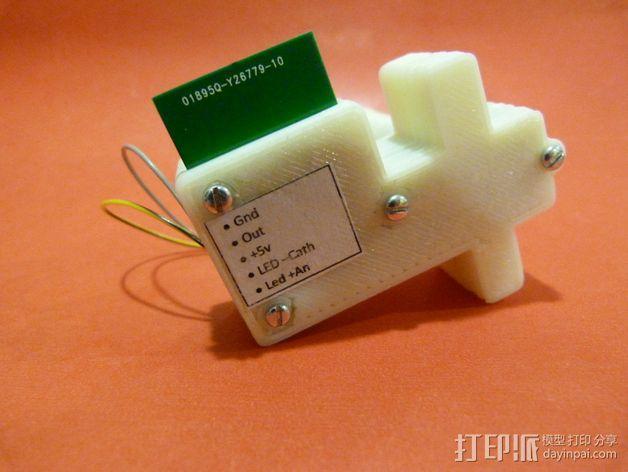 线材尺寸传感器 3D模型  图12
