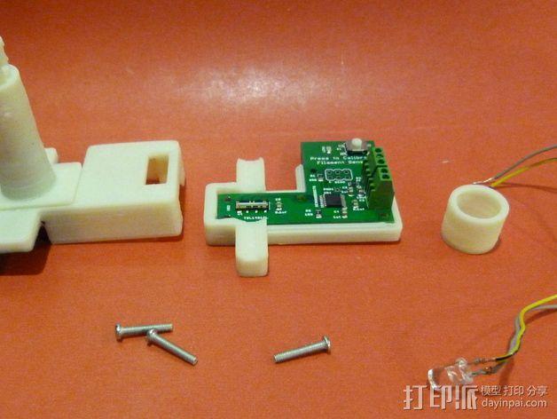线材尺寸传感器 3D模型  图17