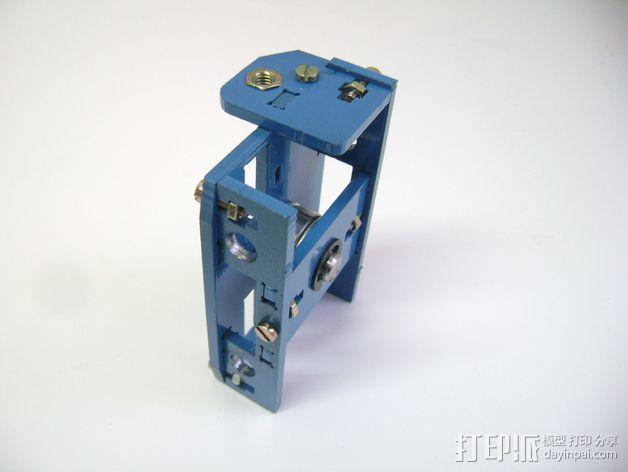 Prusa i3 3毫米钢材激光切割机 3D模型  图3