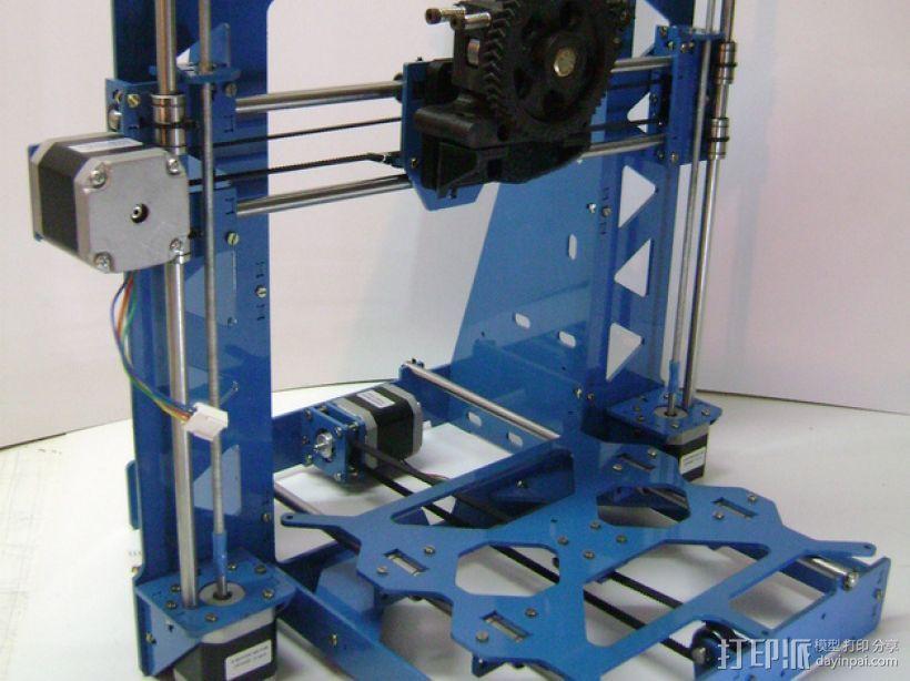 Prusa i3 3毫米钢材激光切割机 3D模型  图1