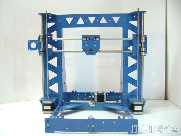 Prusa i3 3毫米钢材激光切割机 3D模型  图2