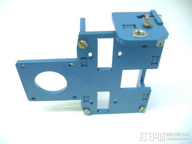 Prusa i3 3毫米钢材激光切割机 3D模型  图6
