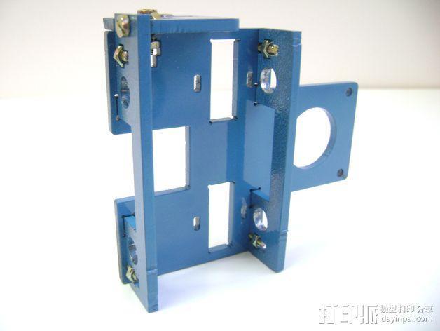 Prusa i3 3毫米钢材激光切割机 3D模型  图7