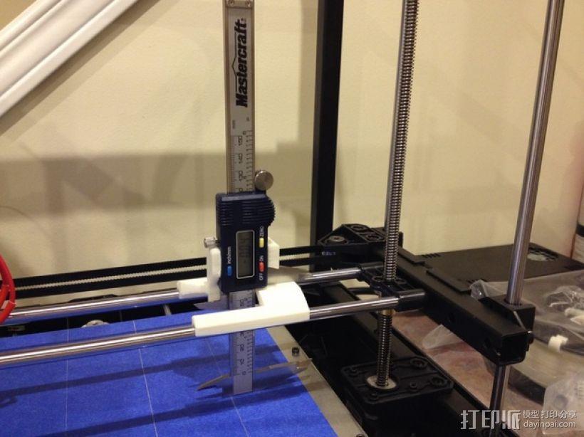 数字化卡尺测量夹具 3D模型  图3
