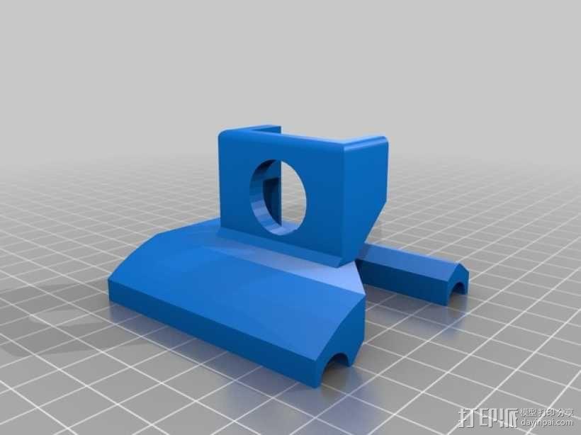 数字化卡尺测量夹具 3D模型  图2