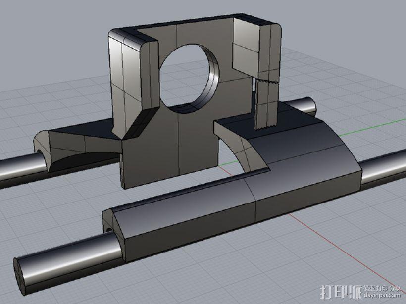 数字化卡尺测量夹具 3D模型  图5