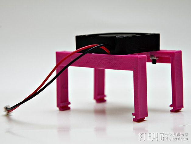 MOAB电路板风扇支架 3D模型  图9
