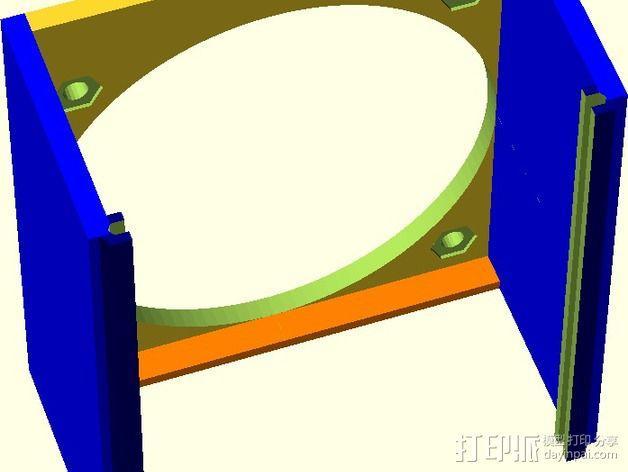 MOAB电路板风扇支架 3D模型  图7