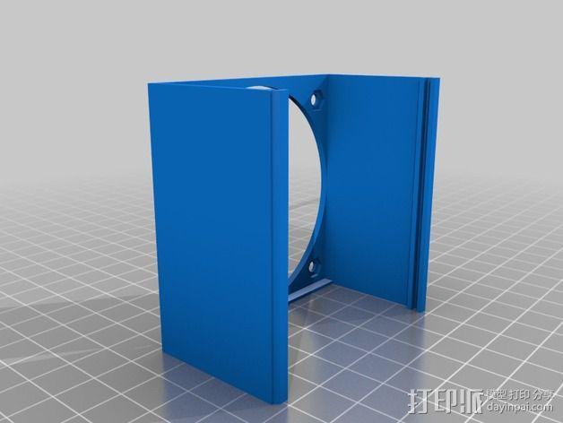 MOAB电路板风扇支架 3D模型  图15