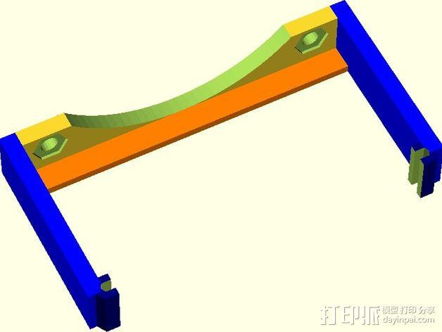 MOAB电路板风扇支架 3D模型  图14