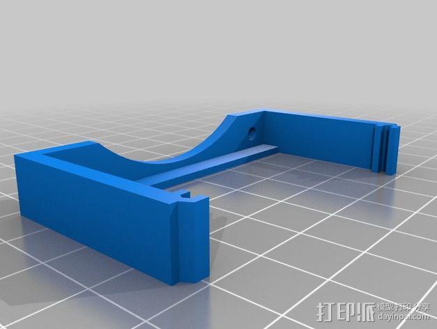 MOAB电路板风扇支架 3D模型  图17