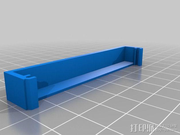 MOAB电路板风扇支架 3D模型  图20