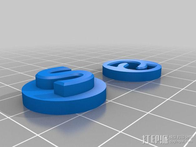 零部件校准装置 3D模型  图5