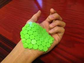 六边形锁子甲 3D模型