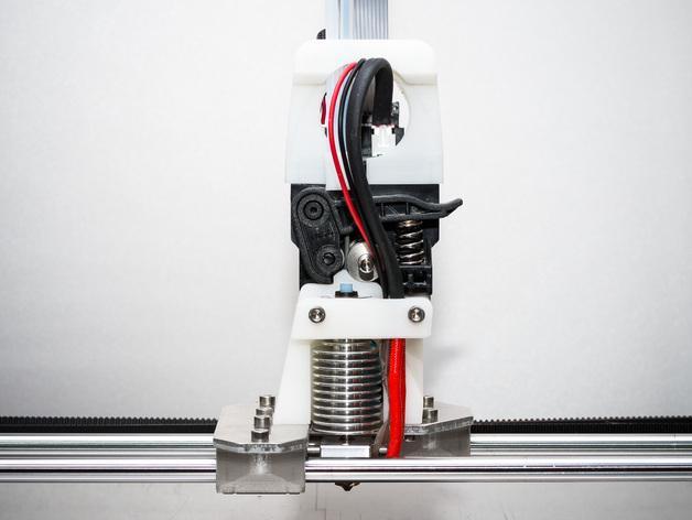 RigidBot E3D挤出机接口/支架 3D模型  图5