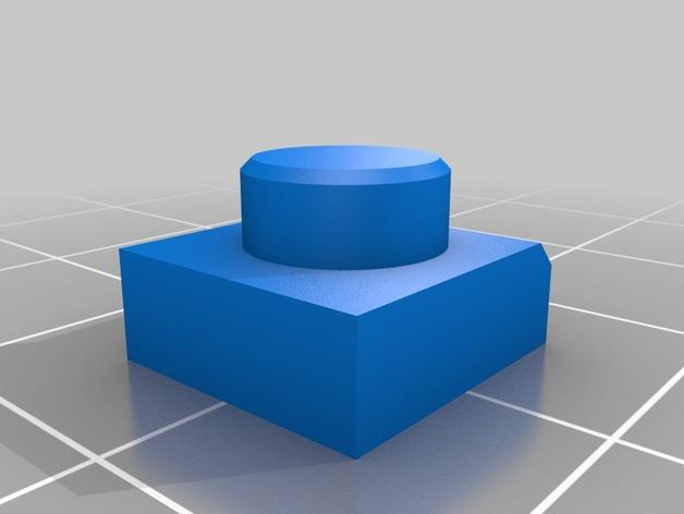RigidBot E3D挤出机接口/支架 3D模型  图6