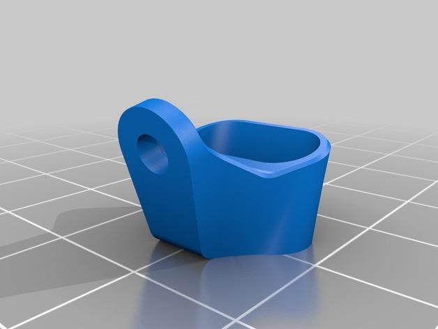 RigidBot E3D挤出机接口/支架 3D模型  图8