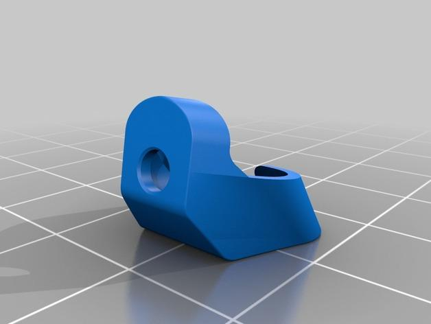 RigidBot E3D挤出机接口/支架 3D模型  图10