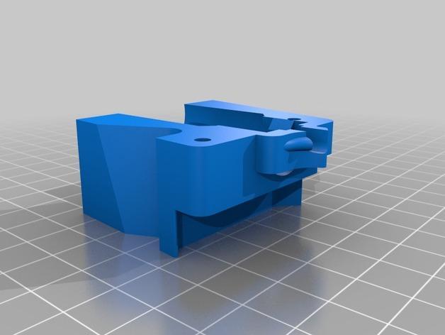 RigidBot E3D挤出机接口/支架 3D模型  图11