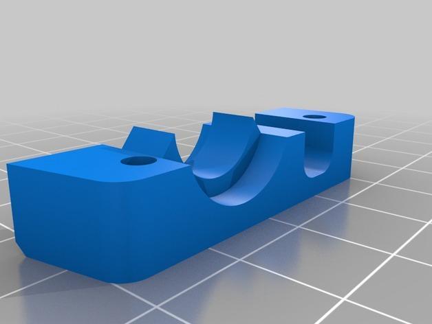 RigidBot E3D挤出机接口/支架 3D模型  图12