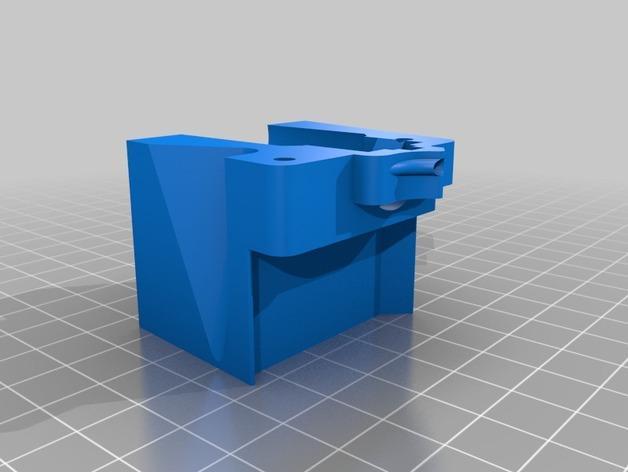 RigidBot E3D挤出机接口/支架 3D模型  图13