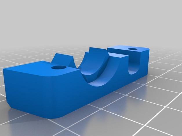 RigidBot E3D挤出机接口/支架 3D模型  图14