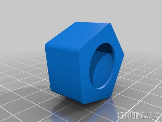 16毫米管状线性轴承 3D模型  图5