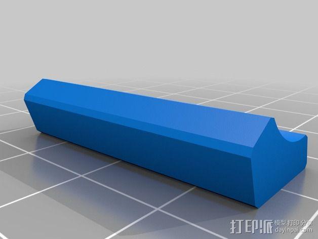 16毫米管状线性轴承 3D模型  图6