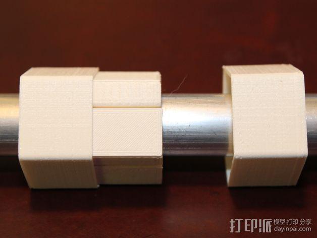 16毫米管状线性轴承 3D模型  图8