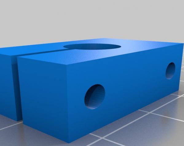 智能图形LCD控制器外壳 3D模型  图4