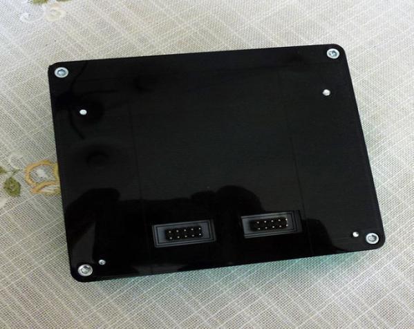 智能图形LCD控制器外壳 3D模型  图3