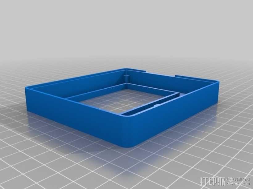 智能图形LCD控制器外壳 3D模型  图7