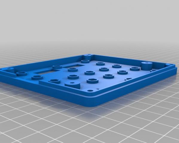 智能图形LCD控制器外壳 3D模型  图6