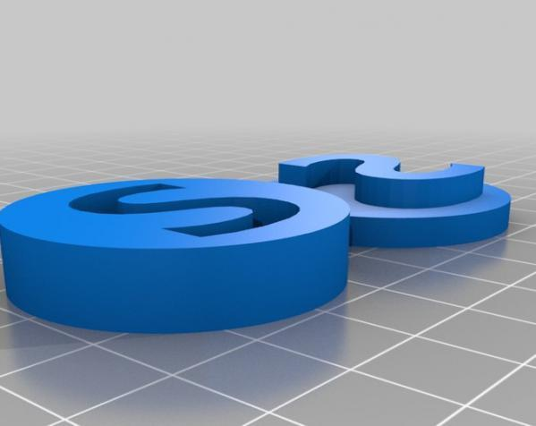 3D打印零部件校准装置 3D模型  图6