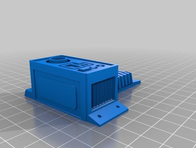 HD-7爪形器具 3D模型  图4