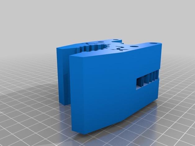 HD-7爪形器具 3D模型  图11
