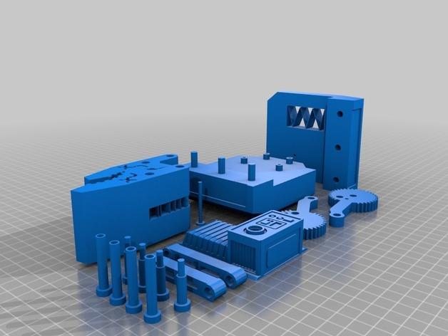 HD-7爪形器具 3D模型  图12