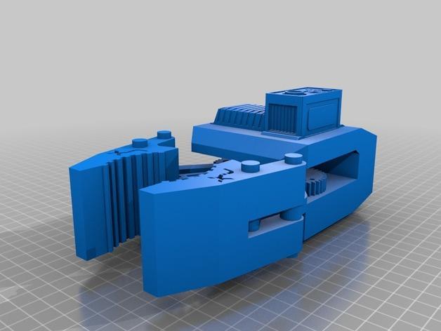 HD-7爪形器具 3D模型  图15