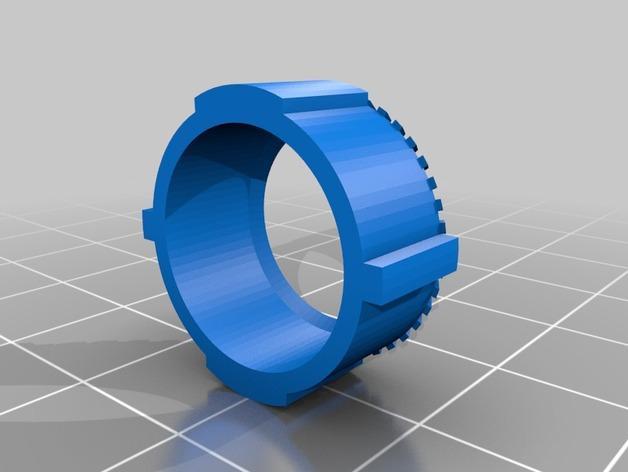 HD-7爪形器具 3D模型  图16