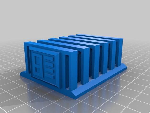 HD-7爪形器具 3D模型  图17