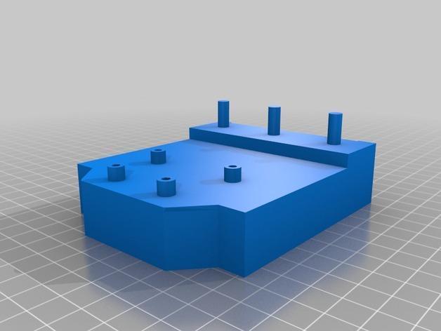 HD-7爪形器具 3D模型  图21