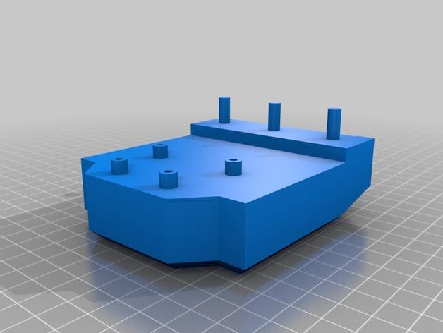HD-7爪形器具 3D模型  图20