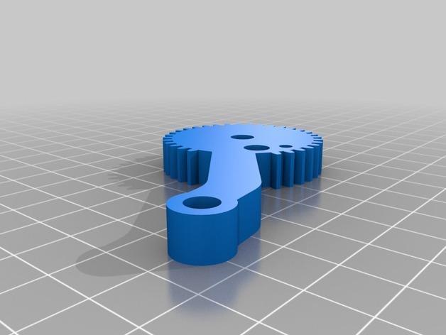 HD-7爪形器具 3D模型  图22