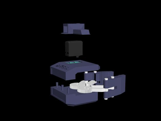 HD-7爪形器具 3D模型  图25