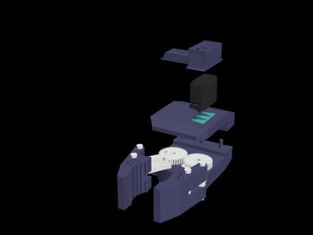HD-7爪形器具 3D模型  图24