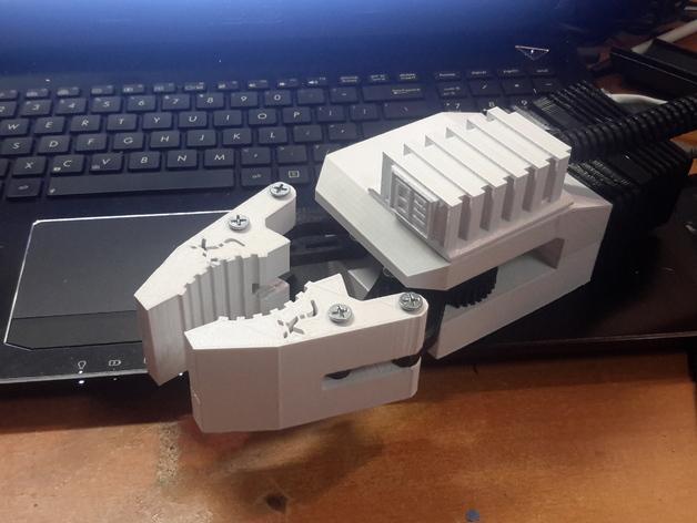 HD-7爪形器具 3D模型  图36